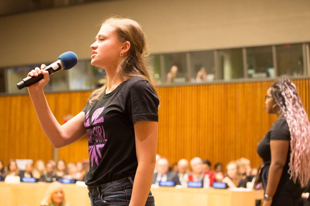 Image result for girl speaking